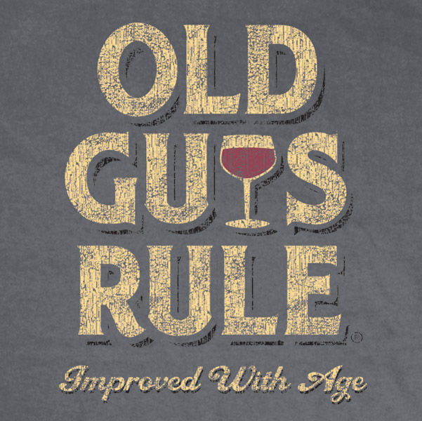 Old Guys Rule - Improved with Age T-shirt
