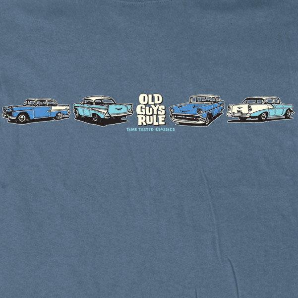 Old Guys Rule Time Tested Classic T-shirt