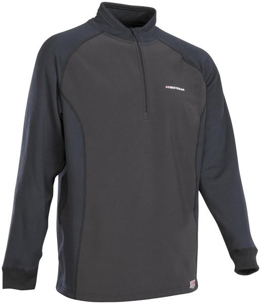 Firstgear Winter Base-Layer Long-Sleeve Black Shirt