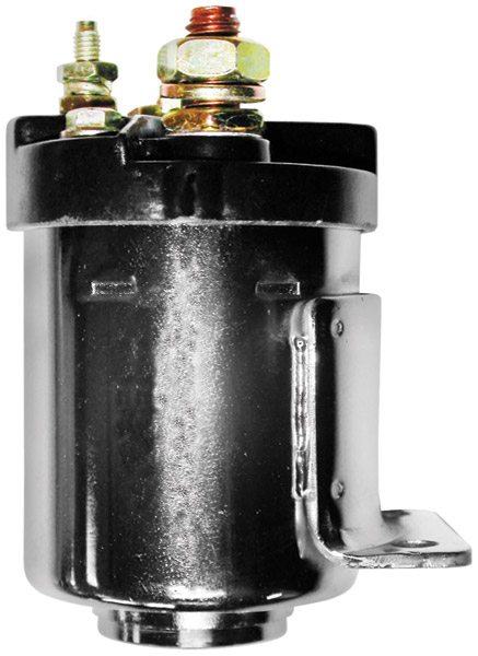 Standard Motorcycle Products Standard Chrome Starter Solenoid