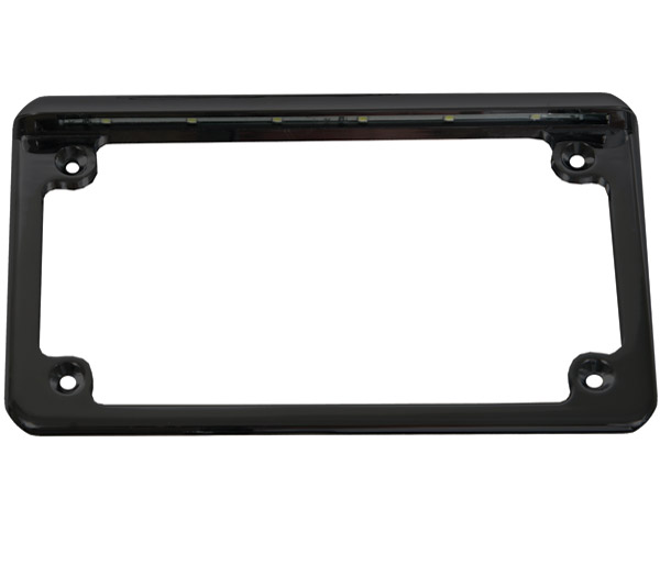 Custom Dynamics Low Profile Horizontal License Plate Frame