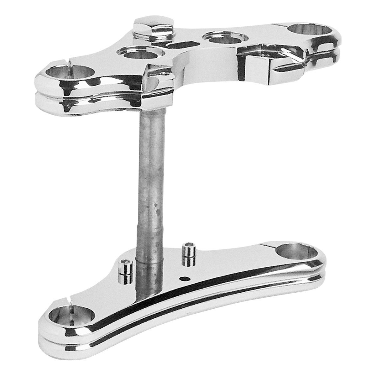 Accutronix Wide Glide Triple Tree Conversion Kit for 39mm Tubes