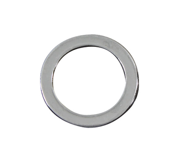 Colony Chrome Flat Top Stem Nut Washer | 231-010 | J&P Cycles