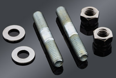 Colony Fork Slider Bottom Cap Nut and Stud Kit