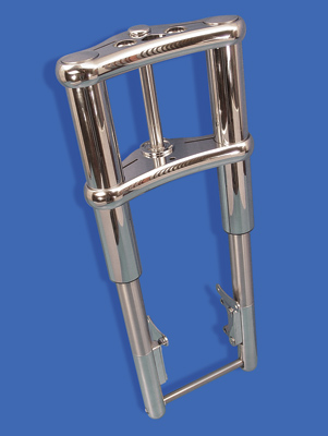 38.5″ Chrome Inverted Fork Assembly
