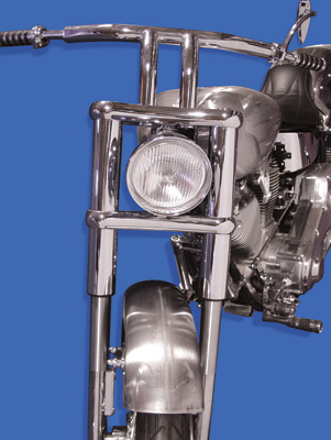 40.5″ Chrome Inverted Fork Assembly