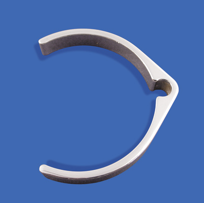 V-Twin Manufacturing Brake Line Clamp