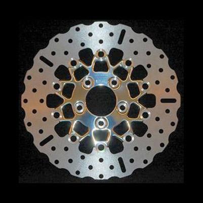 EBC Brakes Custom 10-Button Floating Contour Rear Brake Rotors