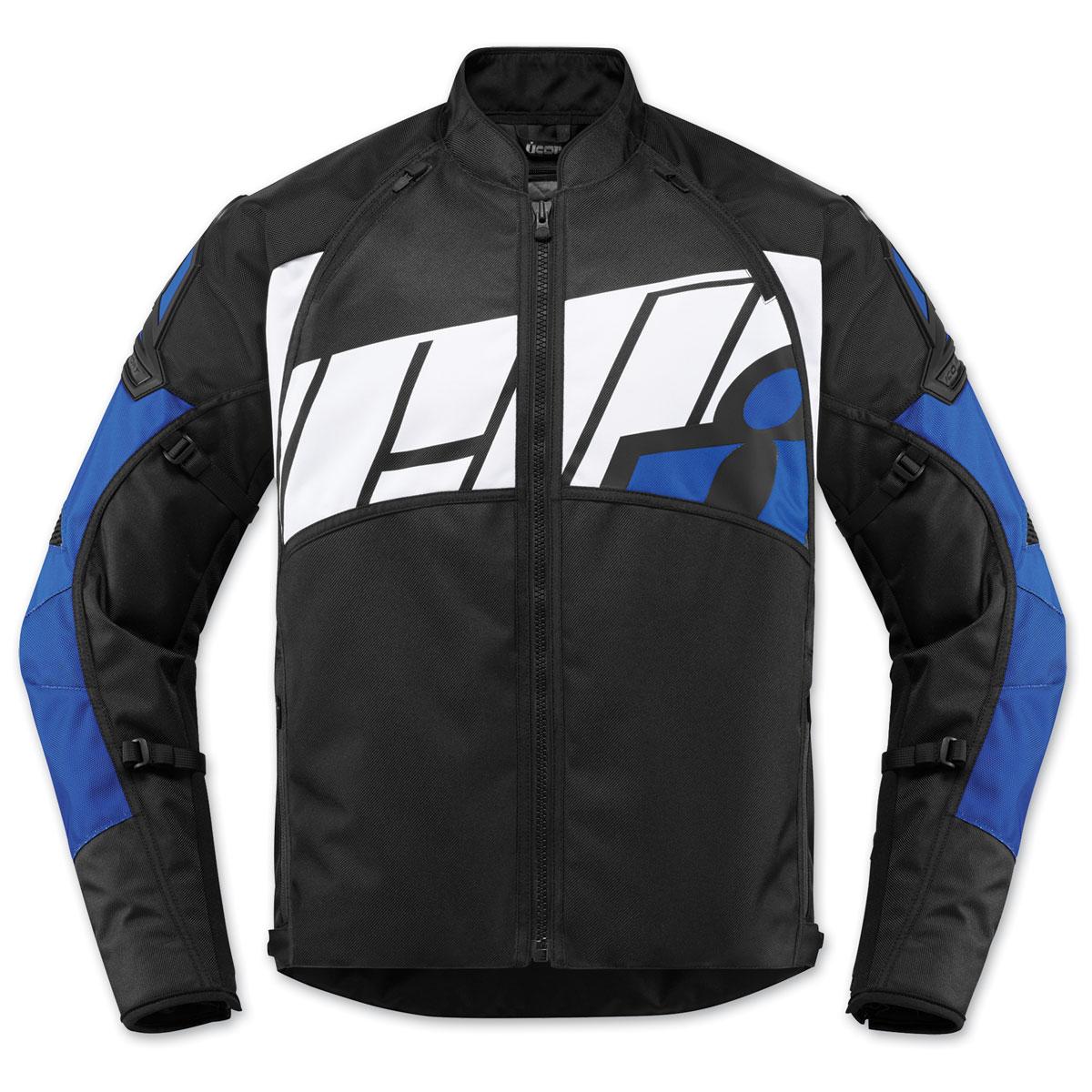 ICON Men's Automag 2 Blue Textile Jacket