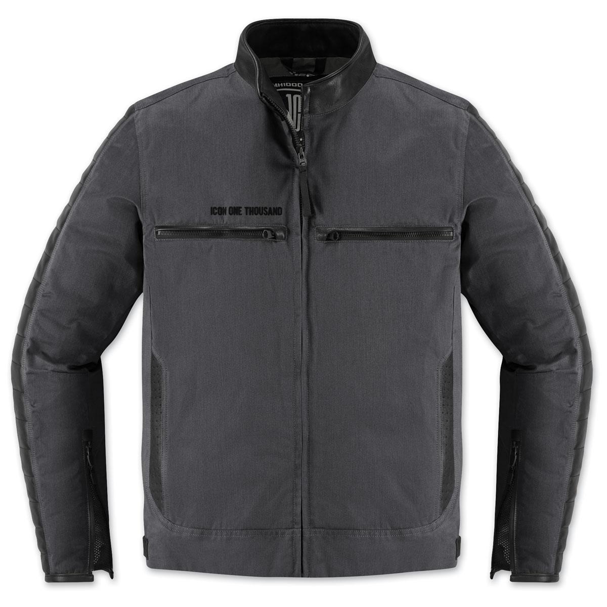 ICON One Thousand Men's MH 1000 Black Textile Jacket