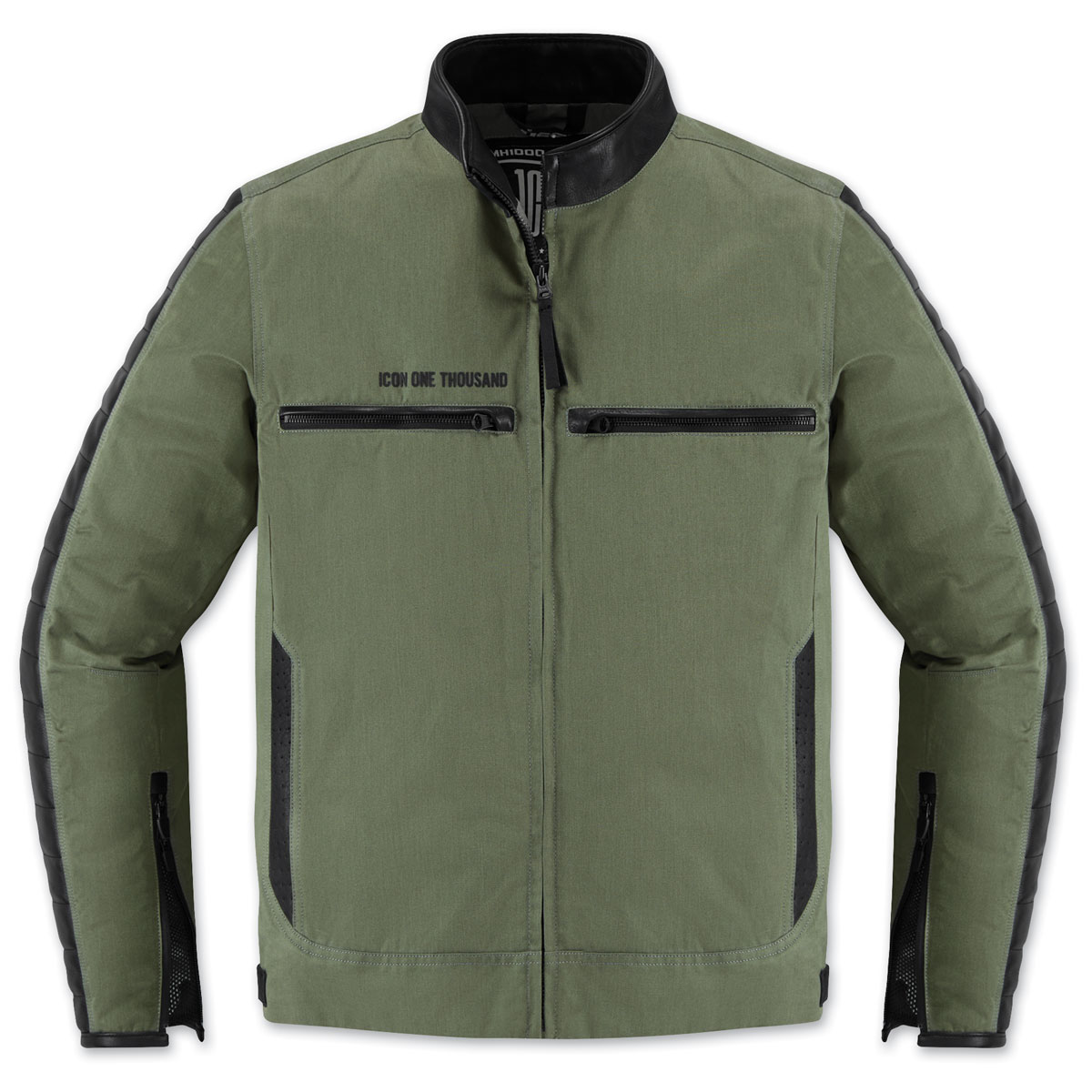 ICON One Thousand Men's MH 1000 Green Textile Jacket