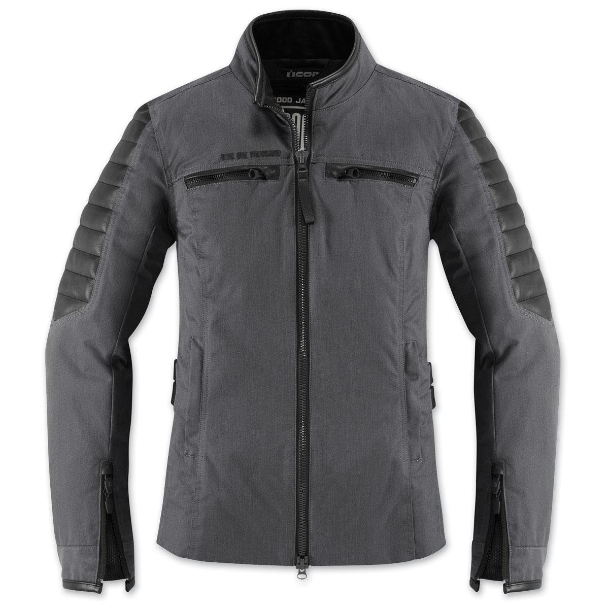 ICON One Thousand Women's MH1000 Black Textile Jacket