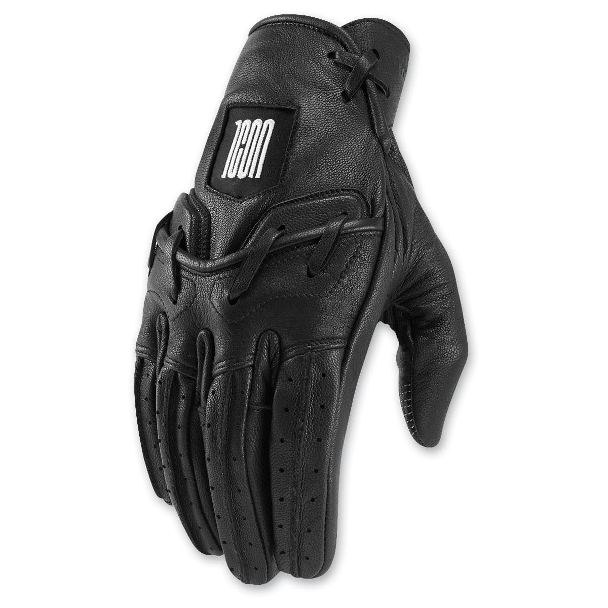ICON One Thousand Men's Baserunner Black Gloves