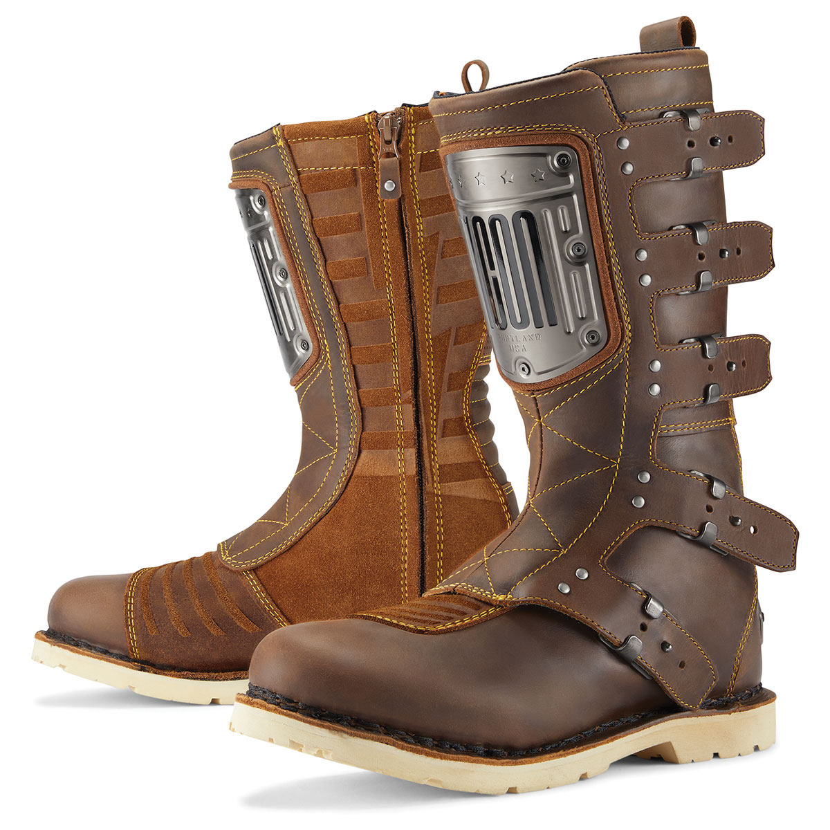 ICON One Thousand Men's Elsinore HP Brown Boots