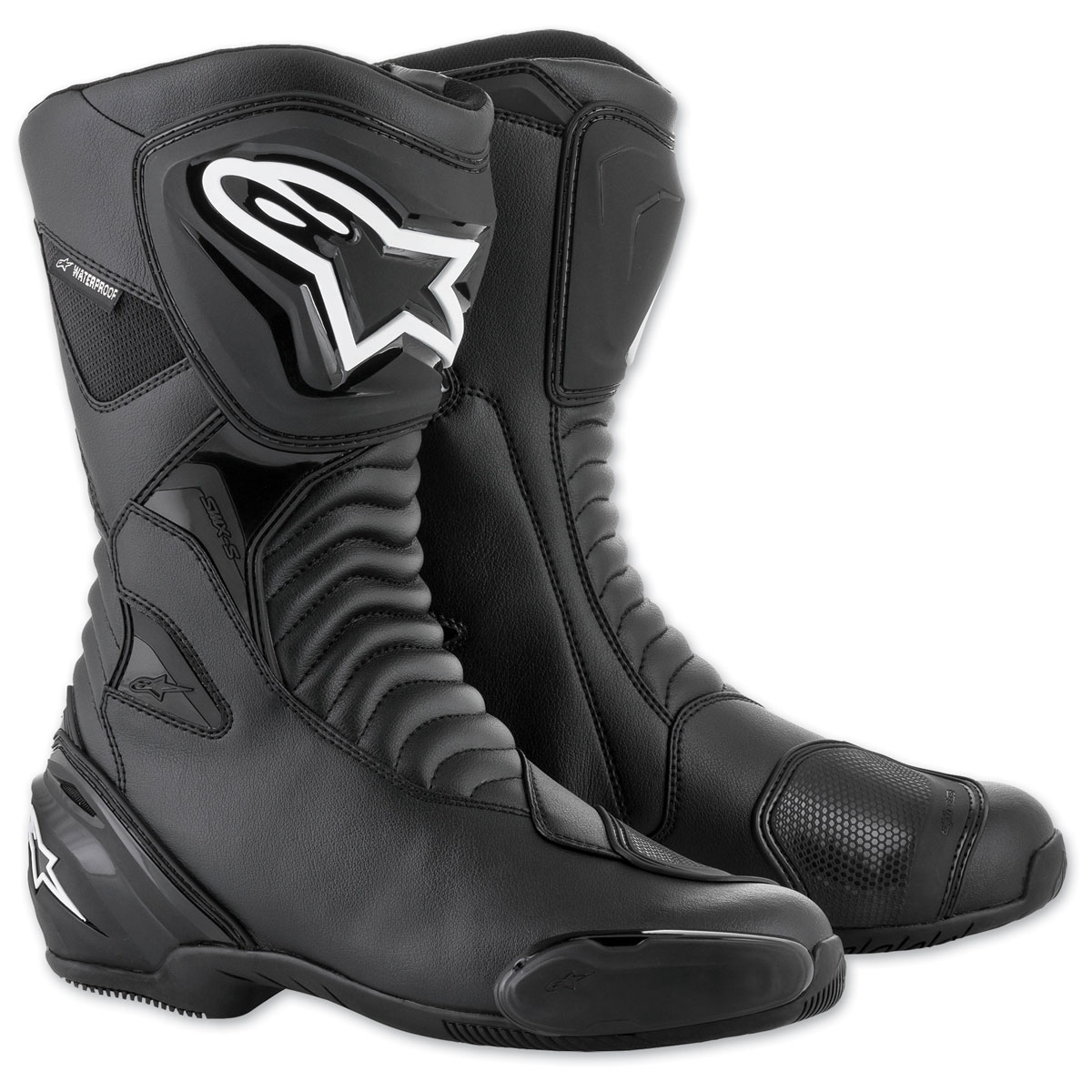 Alpinestars Men's SMX-S Waterproof Black Boots
