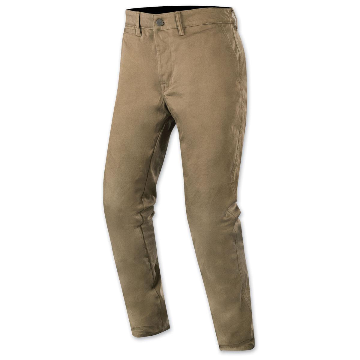 Alpinestars Men's Motochino Dark Khaki Pants
