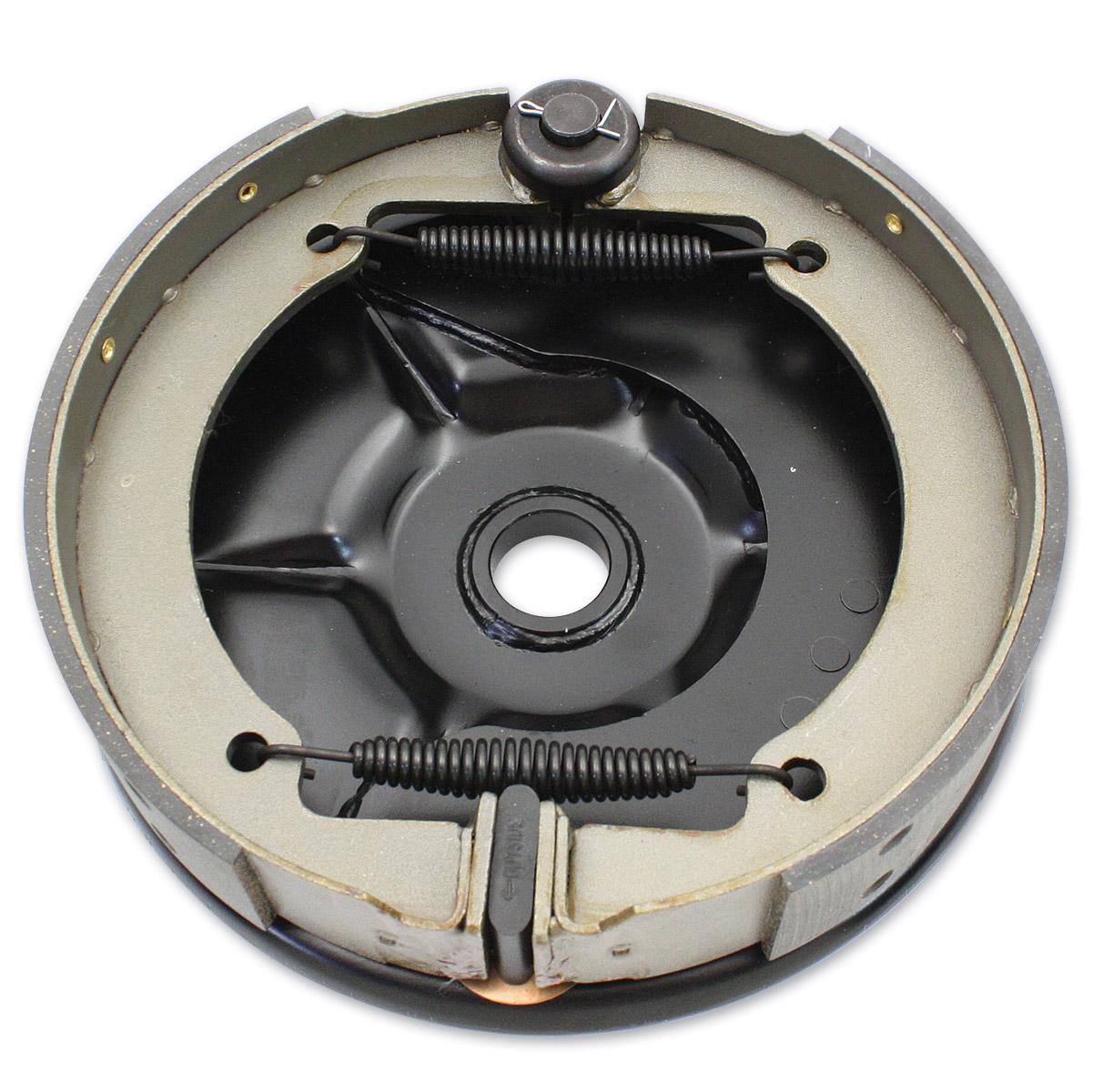 V-Twin Manufacturing Black Rear Mechanical Backing Plate Kit