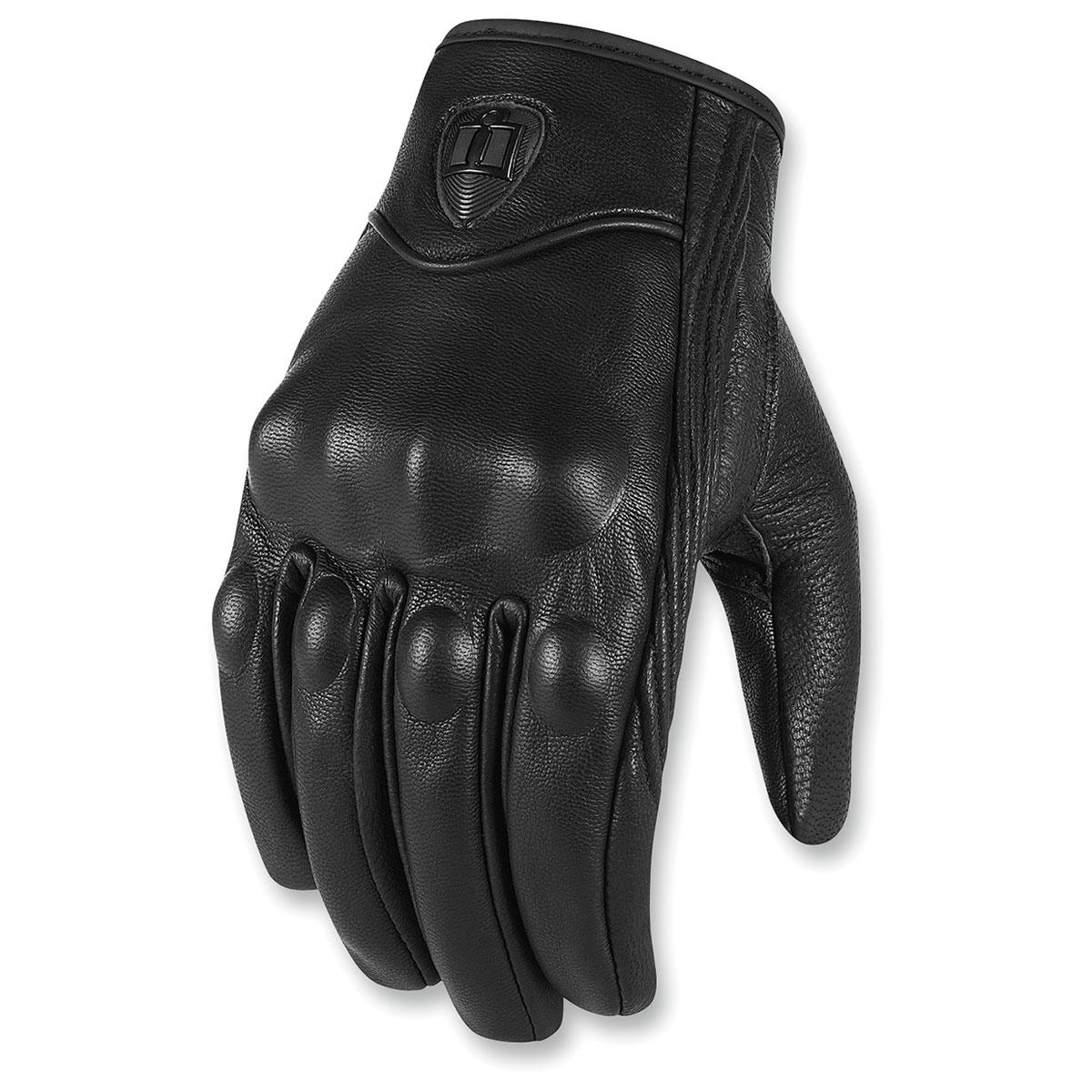 ICON Men's Pursuit CE Black Gloves
