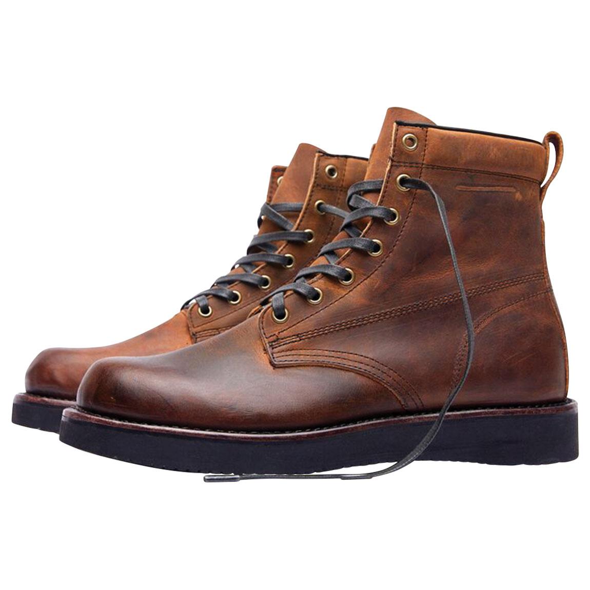 Broken Homme Men's James Brown Leather Boots