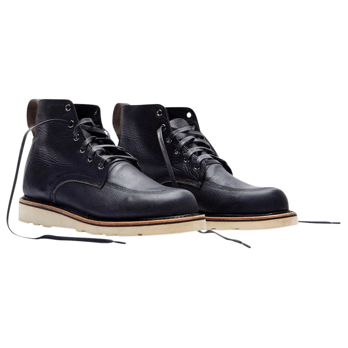 Broken Homme Men's Jamie Black Leather Boots