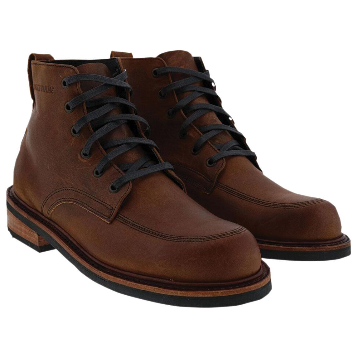 Broken Homme Men's Davis 2 Brown Leather Boots