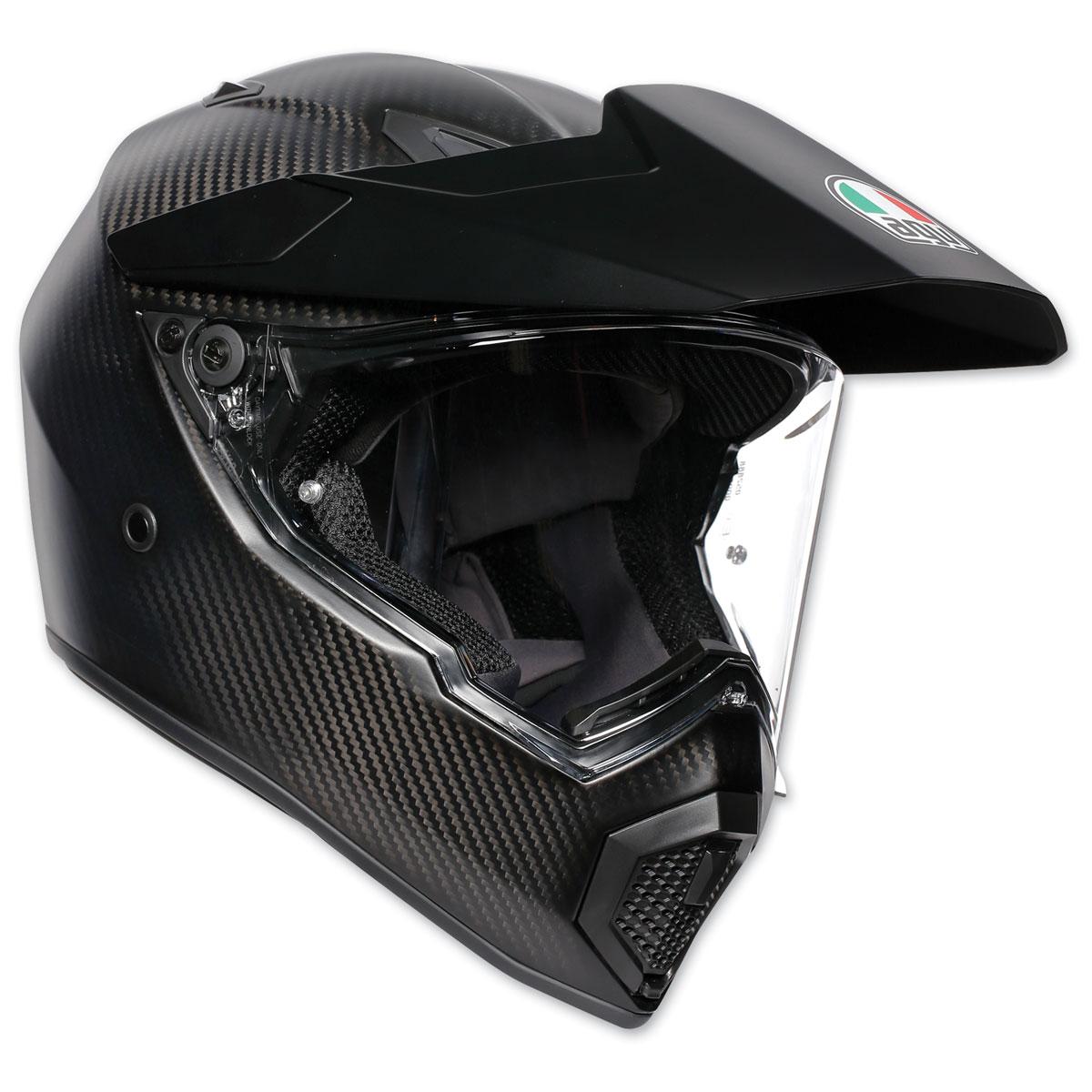 AGV AX-9 Matte Carbon Full Face Helmet
