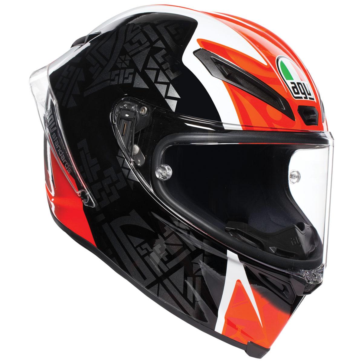 Spoiler per casco integrale AGV PISTA GP CORSA R SMOKE One Size 002