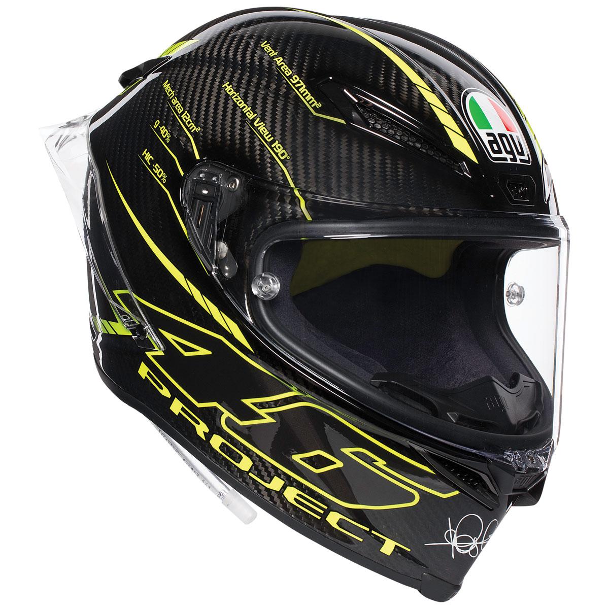 AGV Pista GP R Project 46 3.0 Carbon Full Face Helmet