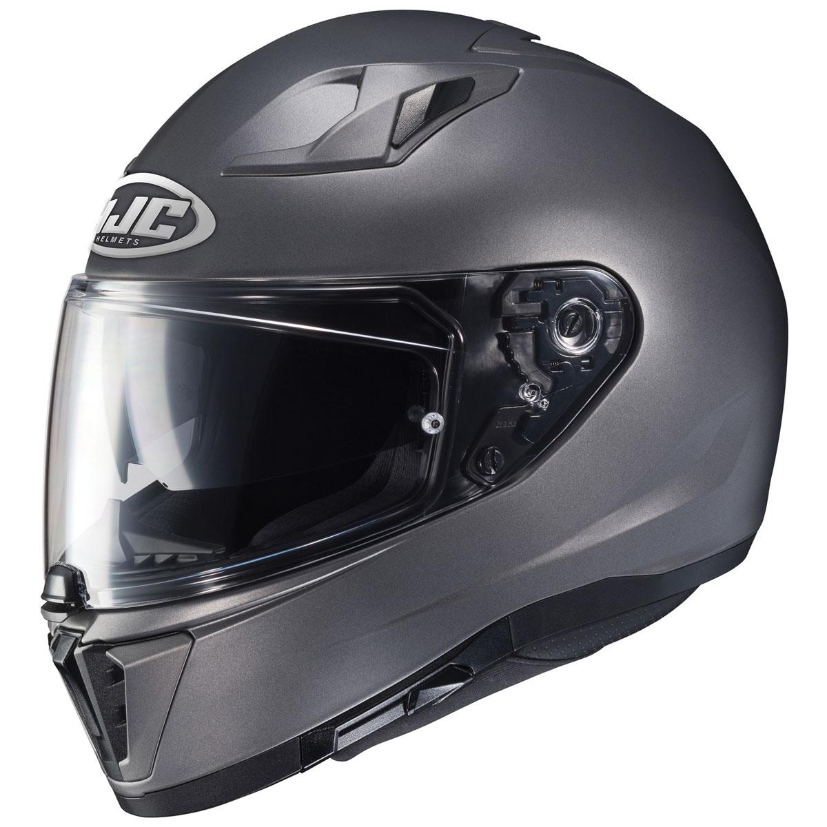HJC i70 Semi Flat Titanium Full Face Helmet