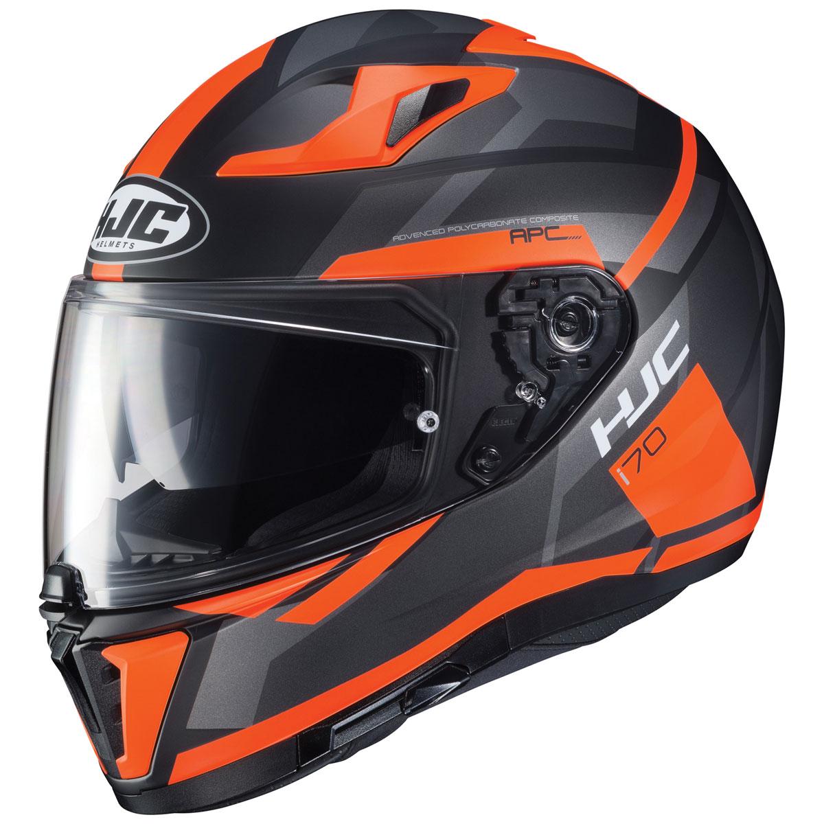 HJC i 70 Elim Black/Orange Full Face Helmet