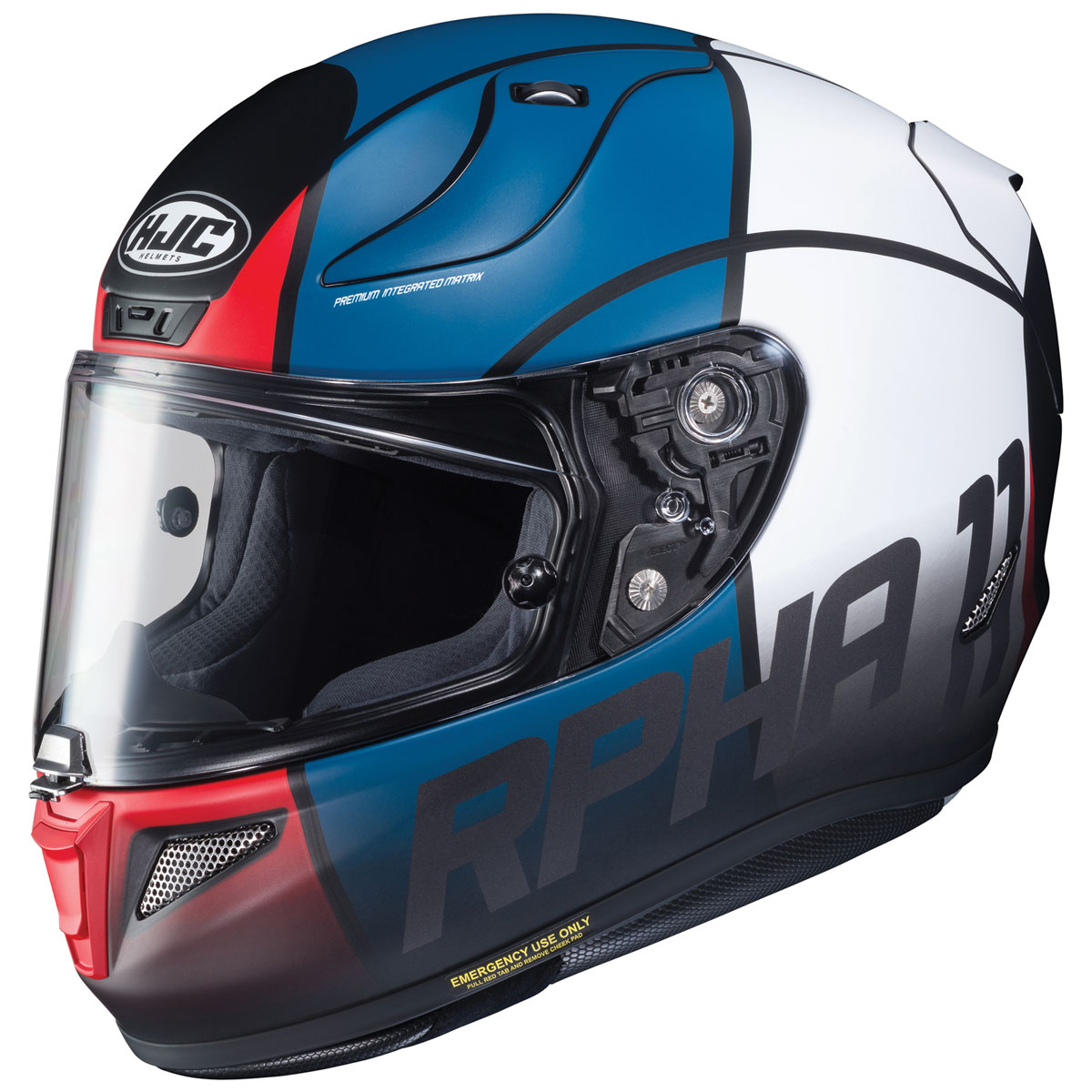 HJC RPHA 11 Pro Quintain Red/White/Blue Full Face Helmet