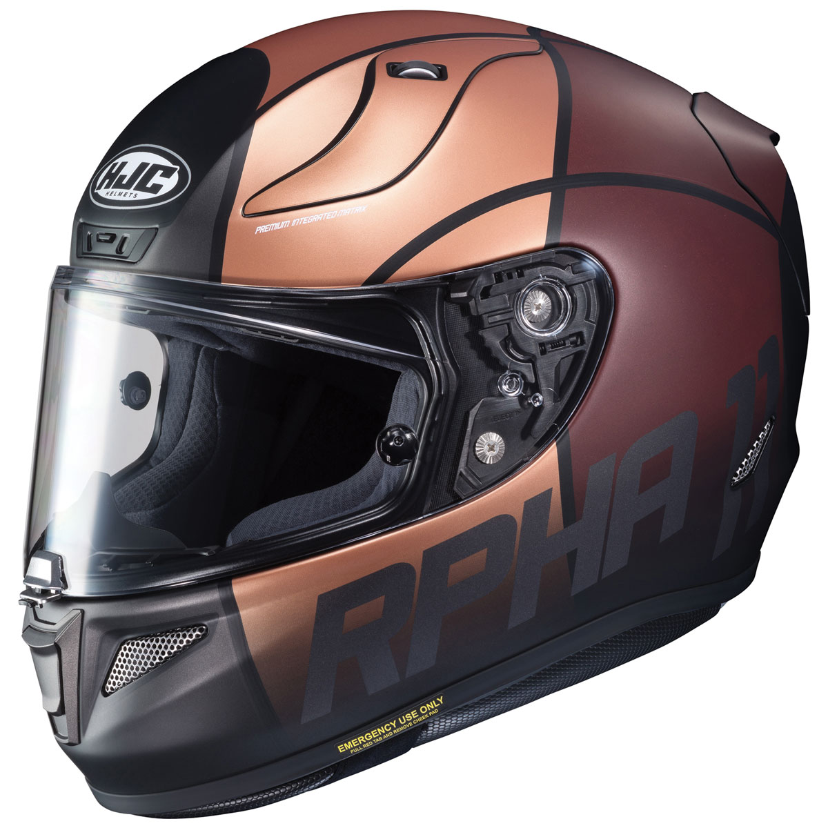 a61c9144 HJC RPHA 11 Pro Quintain Black/Bronze/Brown Full Face Helmet