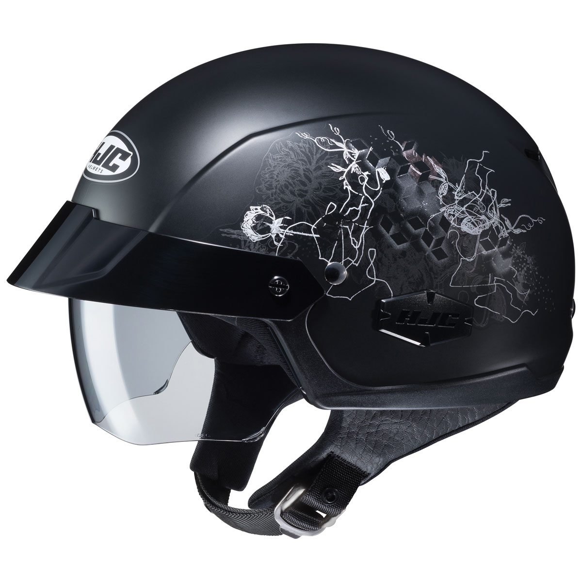 HJC IS-Cruiser Amor Black Half Helmet