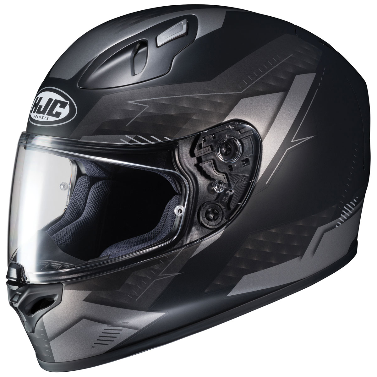 HJC FG-17 Talos Black/Gray Full Face Helmet