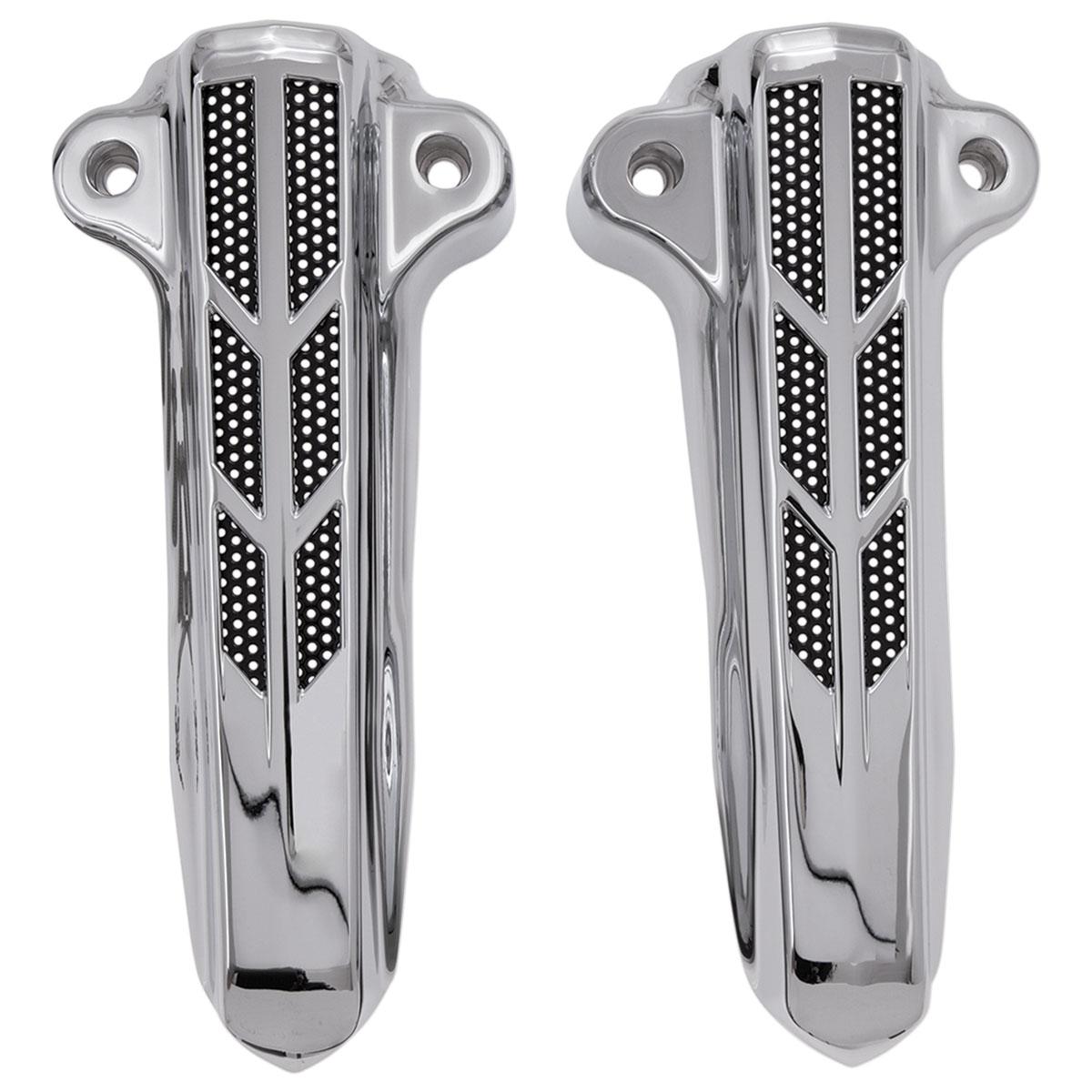 CIRO Forkini Lower Fork Leg Covers Chrome 43000
