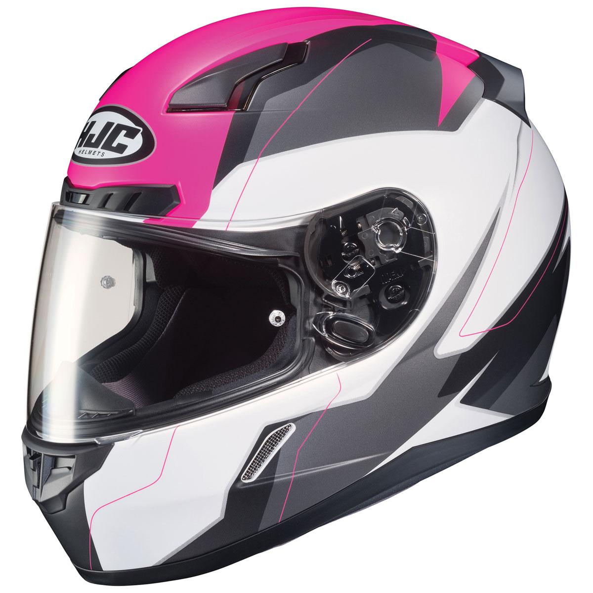 HJC CL-17 Omni Pink/White/Gray Full Face Helmet