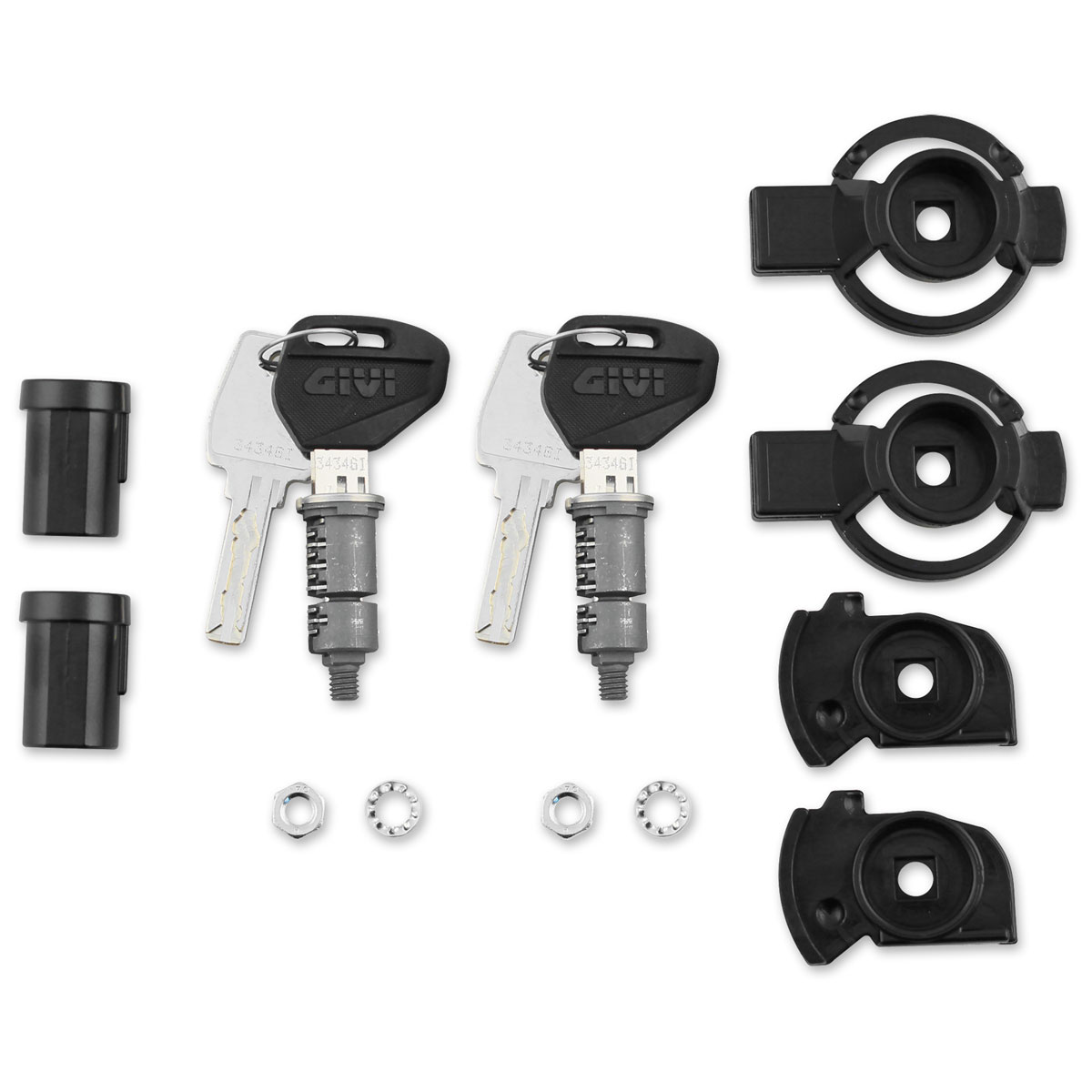 Givi Security Lock Set Pair