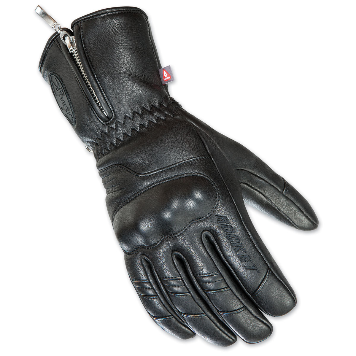 Joe Rocket Men's Outrigger Black Leather Gloves