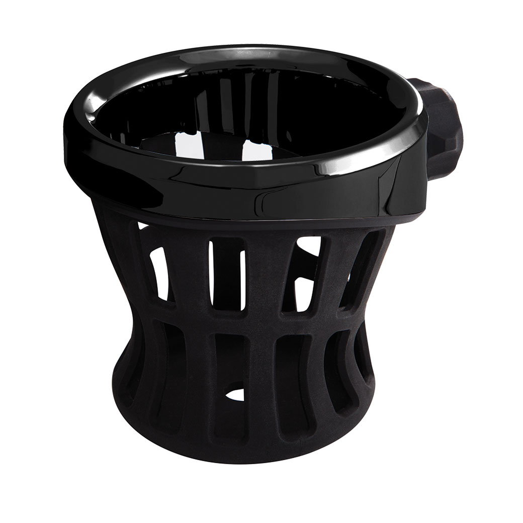 Ciro Black Drink Holder With Perch Mount