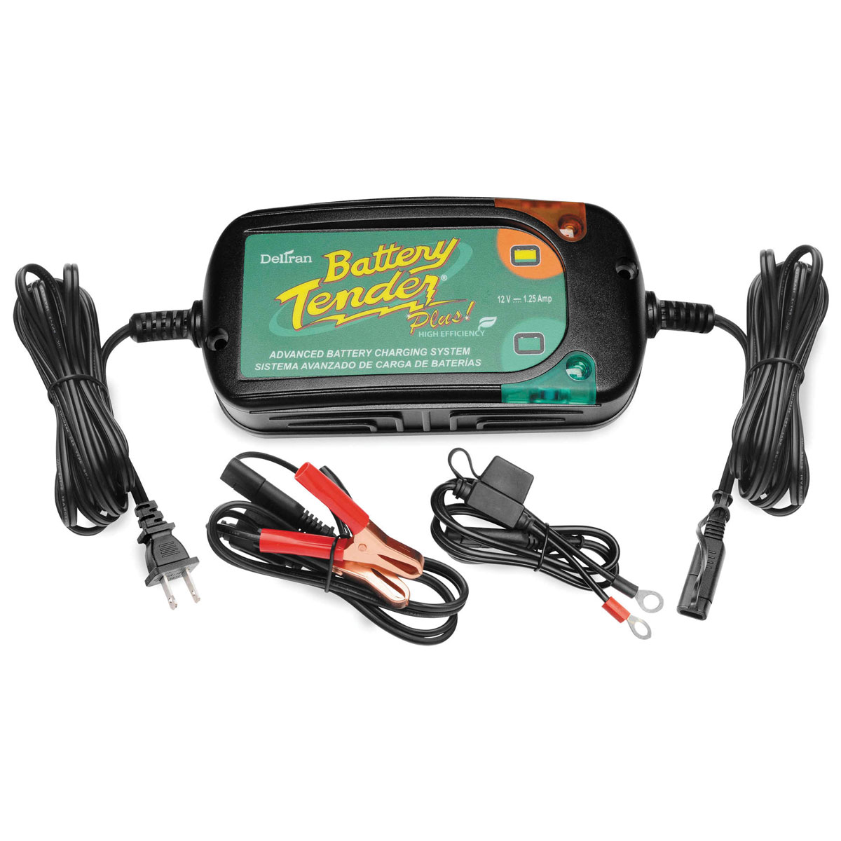 Battery Tender Plus 1.5-Amp High Efficiency Battery Charger