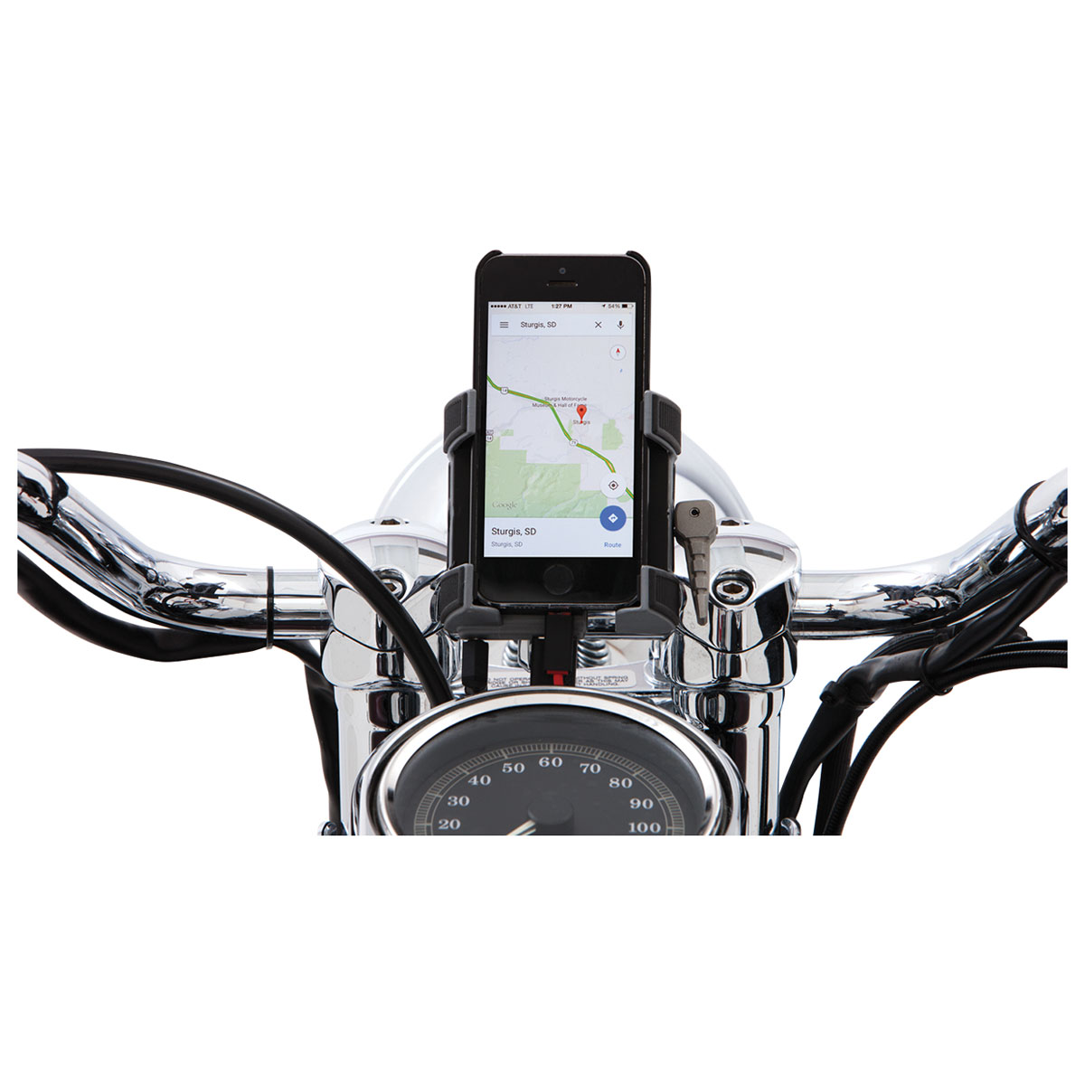 Ciro Smartphone/GPS Holder/Charger with Black 7/8