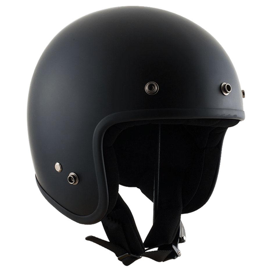 Zox Z-OF10 Carbon Matte Black Open Face Helmet