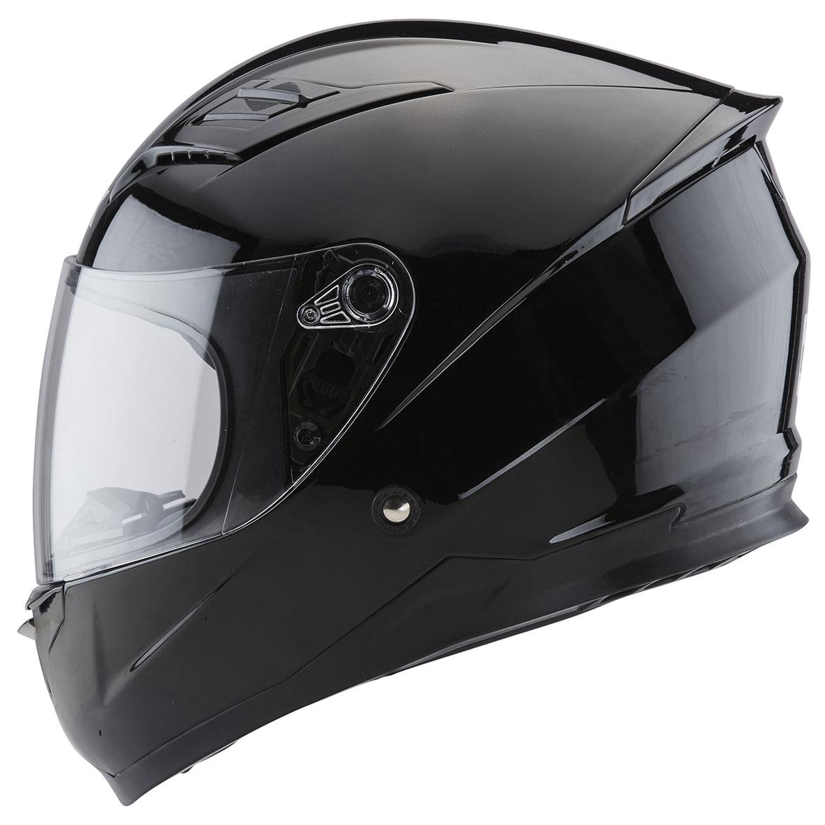 Zox Sonic Junior Gloss Black Full Face Helmet