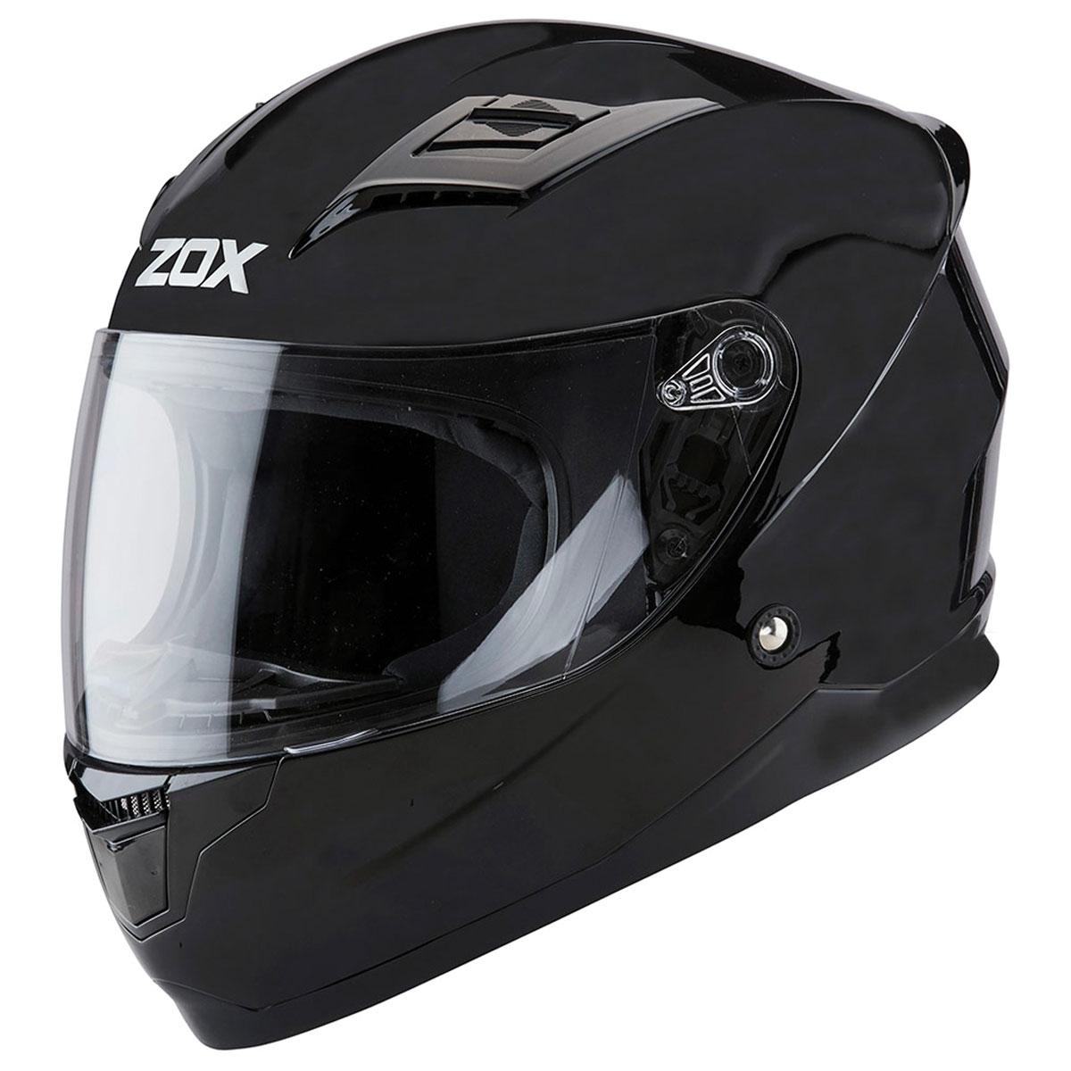 Zox Sonic Junior Matte Black Full Face Helmet