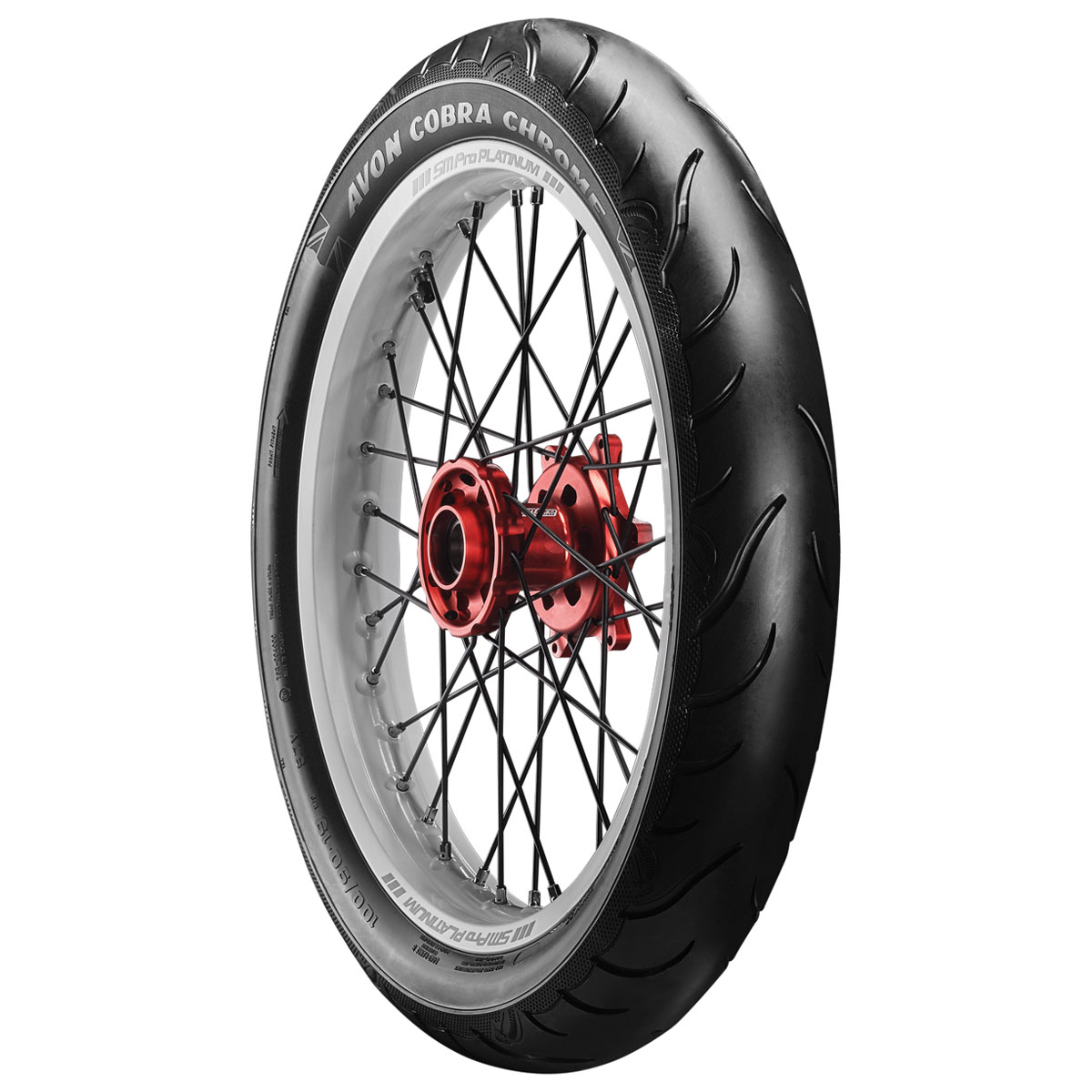 Avon AV91 Cobra Chrome 100/90-19 Front Tire