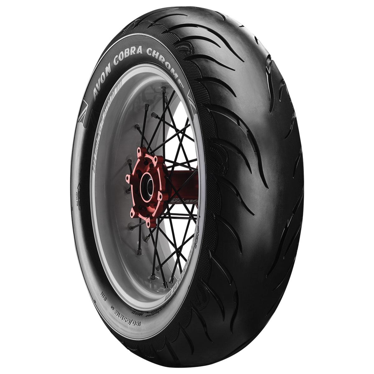 Avon AV92 Cobra Chrome 180/65B16 Rear Tire