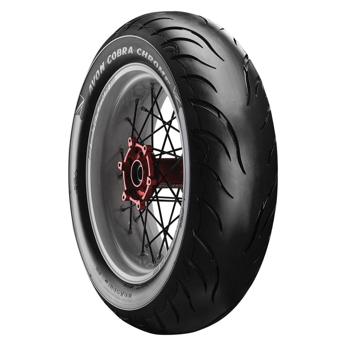 Avon AV92 Cobra Chrome 300/35VR18 Rear Tire - 4120216