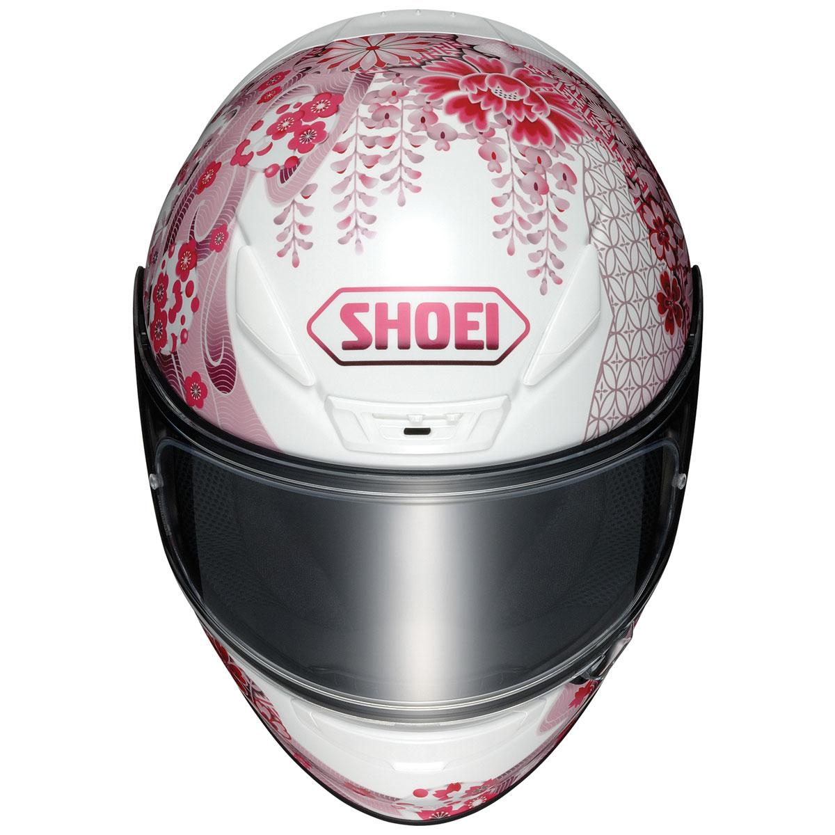 Shoei RF-1200 Harmonic Pink/White Full Face Helmet