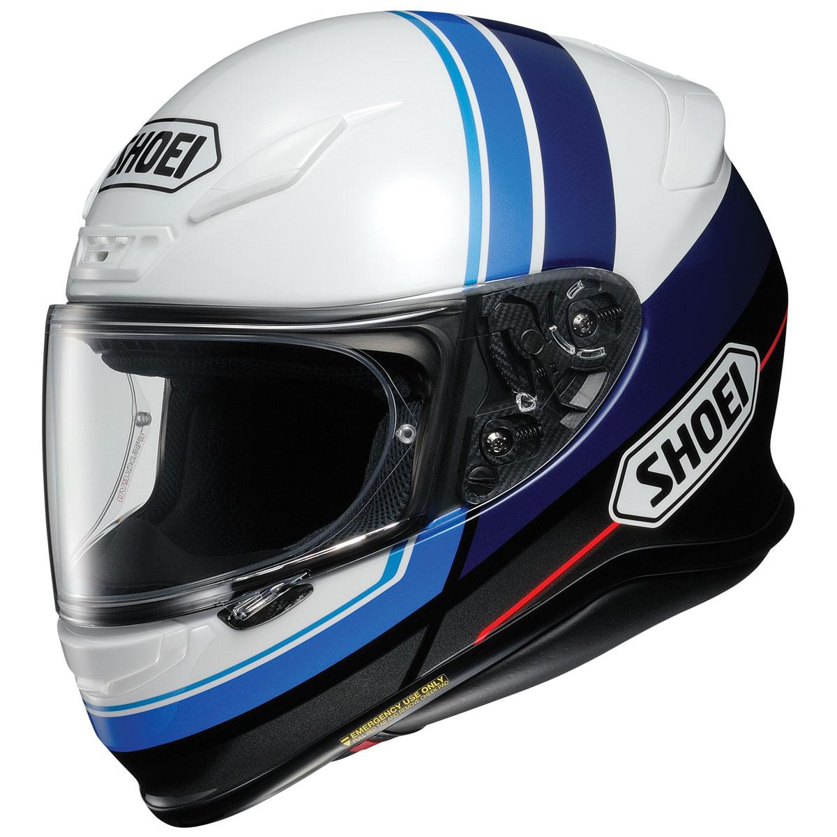 Shoei RF-1200 Philosopher Blue/White Full Face Helmet