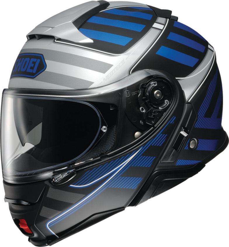 Shoei Neotec II Splicer Blue Modular Helmet